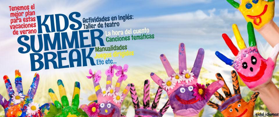 Cursos de inglés en verano | Colonias urbanas y Campamentos de inglés en Bilbao |